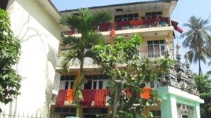 Sušenje redovničkih haljina - blizu hostela u kojem sam ostala