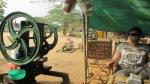 stroj koji radi sok od trske, Bagan, Burma