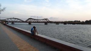 Francuski most, Kampot, Kambodža