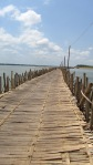 The Bamboo Bridge, Koh Paen, Kambodža