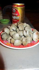 školjke, Kompong Cham, Kambodža