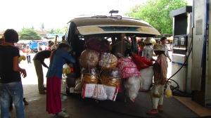 vožnja Kompong Cham - Stung Treng, Kambodža