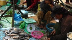 Tržnica, Stung Treng, Kambodža