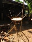 Sušenje riže, Bilu otok, Mijanmar