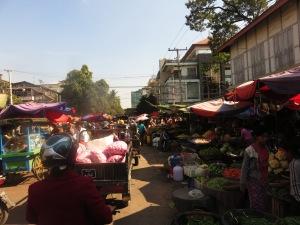 Tržnica u Mandalayu, Mijanmar
