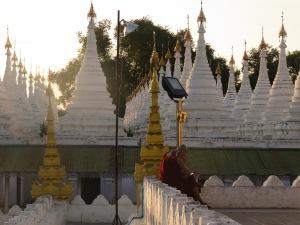 Kuthodaw Pagoda, Mandalay, Mijanmar