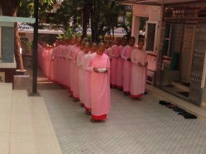 Sagaing, ženski samostan, Mijanmar