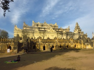 Maha Aung Mye Bonzan Samostan, Inwa, Mijanmar