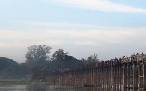 Most od tikovine, Amarapura, Mijanmar