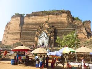 Pahtodawgyi stupa, Mingun, Mijanmar