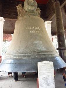 Zvono Minguna, Mijanmar