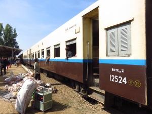 vlak Mandalay - Hsipaw, Mijanmar
