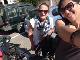 Nas prvi selfi u Cagliariju ;)