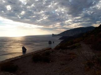 Pogled na plazu Masua