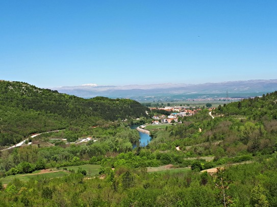Pogled na Cetinu