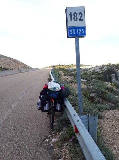 SS 125 - cesta kojom sam se 80% vremena vozila....teska, al nagradi za svu patnju